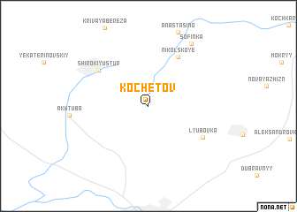map of Kochetov