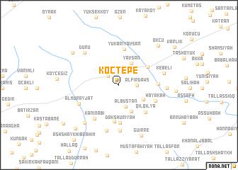 map of Koçtepe