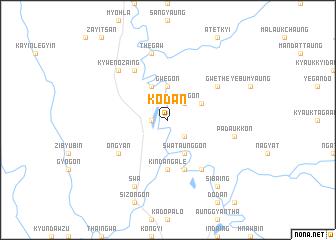 map of Kodan