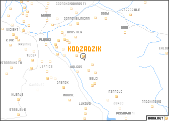 map of Kodžadžik