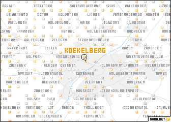 map of Koekelberg