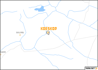 map of Koeskop