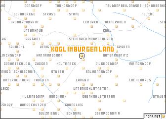 map of Kogl im Burgenland