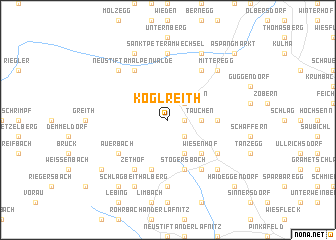 map of Koglreith