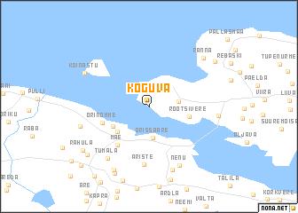 map of Koguva