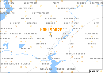 map of Kohlsdorf