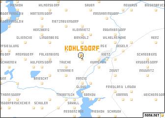 map of Kohlsdorf