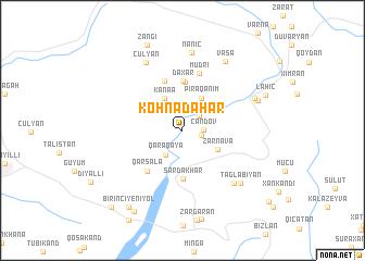 map of Köhnǝdǝhar