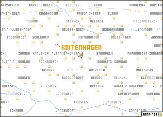 map of Koitenhagen