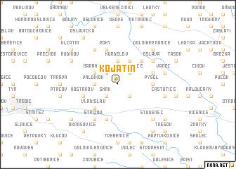 map of Kojatín