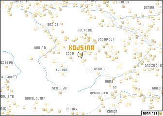 map of Kojsina