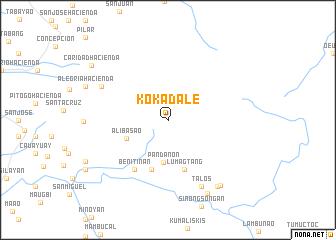map of Kokadale
