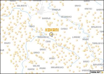 map of Kokani