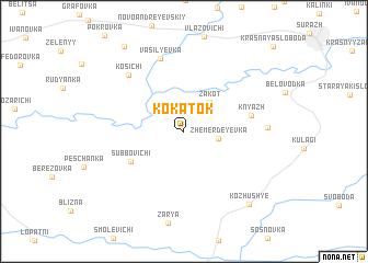map of Kokatok