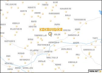 map of Kokaviidika