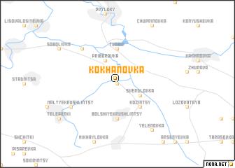 map of Kokhanovka