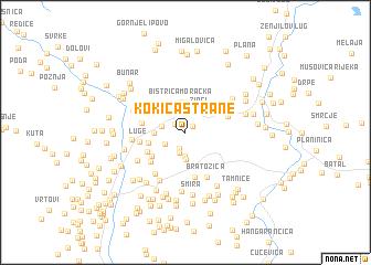 map of Kokića Strane