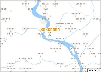 map of Kokkogon