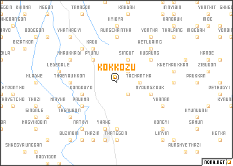 map of Kokkozu