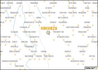 map of Kokkozu