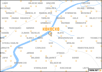 map of Kokocko
