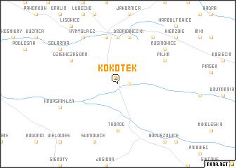 map of Kokotek