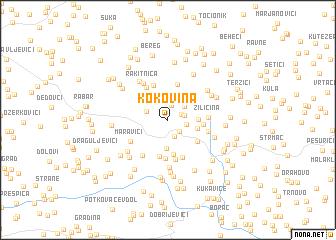 map of Kokovina
