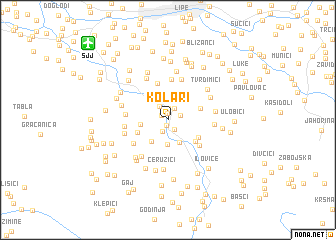 map of Kolari