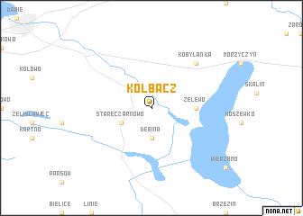 map of Kołbacz