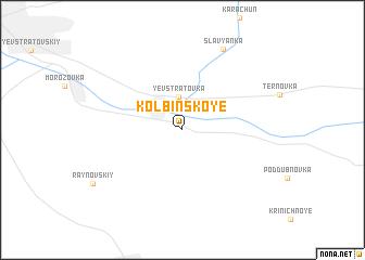 map of Kolbinskoye