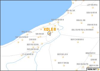 Kolea (Algeria) map - nona.net on wailea beach marriott map, hali'i kai map, fairway villas map, napili point map, halii kai map, hawaii kai map, luana kai map, constantine map, grand wailea map, pauoa beach map, oran map,