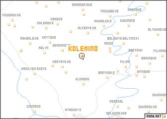 map of Kolemino