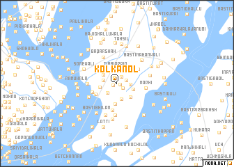 map of Kol Kanol