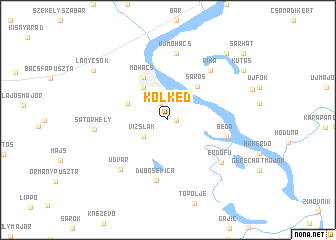 map of Kölked