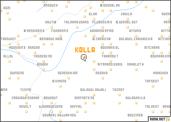 map of Kôllâ