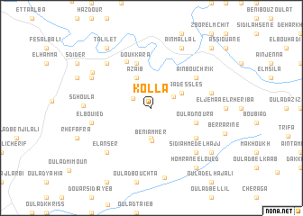 map of Kolla