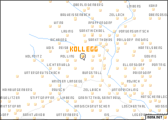 map of Kollegg