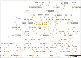 map of Kollegg