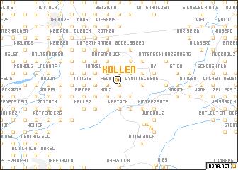 map of Köllen