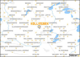 map of Köllingbek