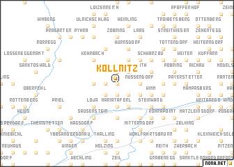 map of Kollnitz