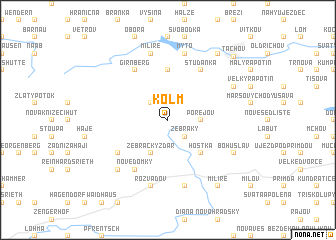 map of Kolm