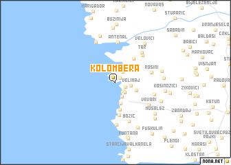 map of Kolombera