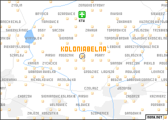 map of Kolonia Belna
