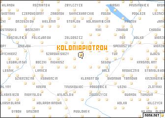 map of Kolonia Piotrów