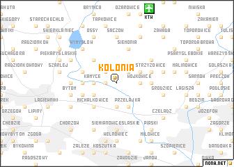 map of Kolonia