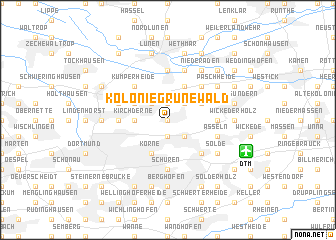 map of Kolonie Grunewald