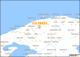 map of Kolsbæk