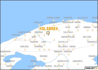 map of Kolsbæk