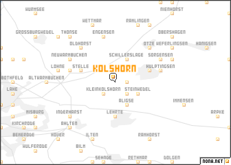 map of Kolshorn
